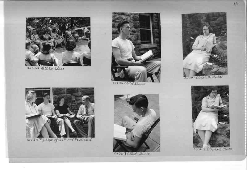 Mission Photograph Album - Portraits #13 Page 0013