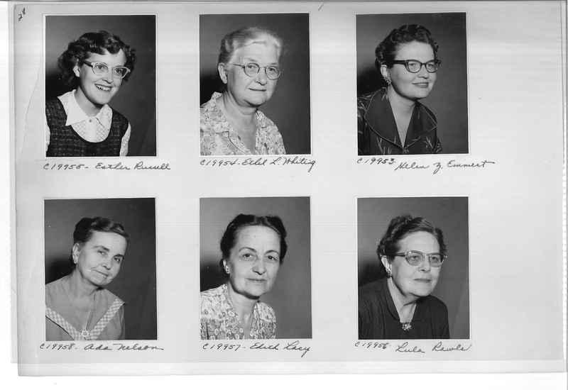 Mission Photograph Album - Portraits #09 Page 0028