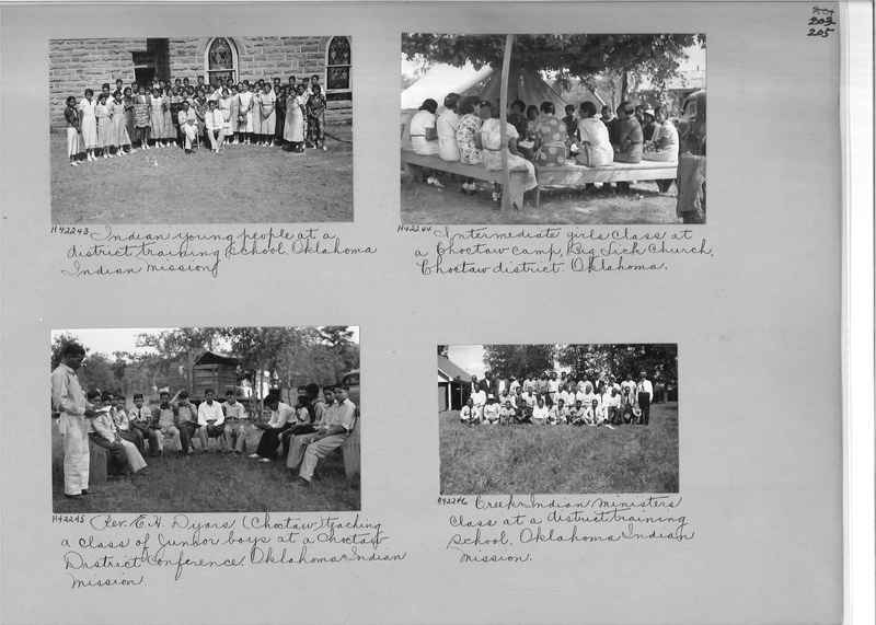 Mission Photograph Album - Indians #2 page_0205