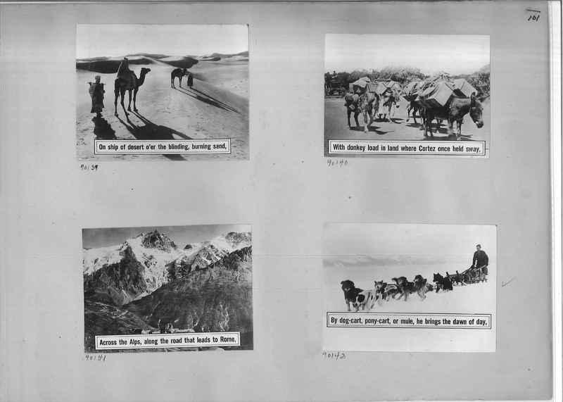 Mission Photograph Album - Miscellaneous #02 Page 0101
