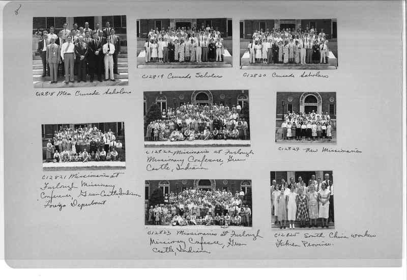 Mission Photograph Album - Portraits #13 Page 0008