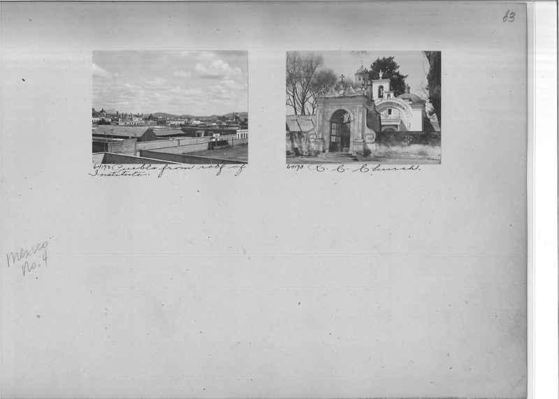 Mission Photograph Album - Mexico #04 page 0063