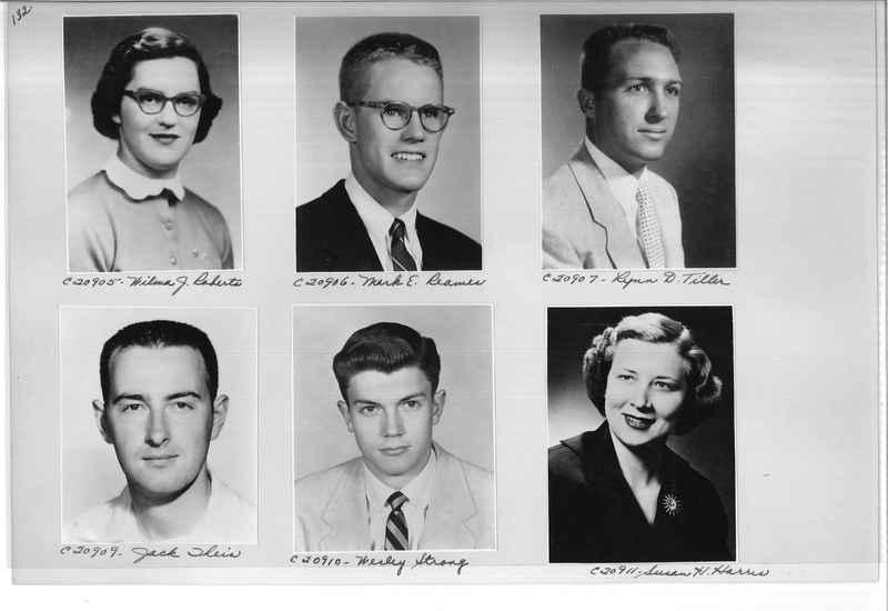 Mission Photograph Album - Portraits #09 Page 0132