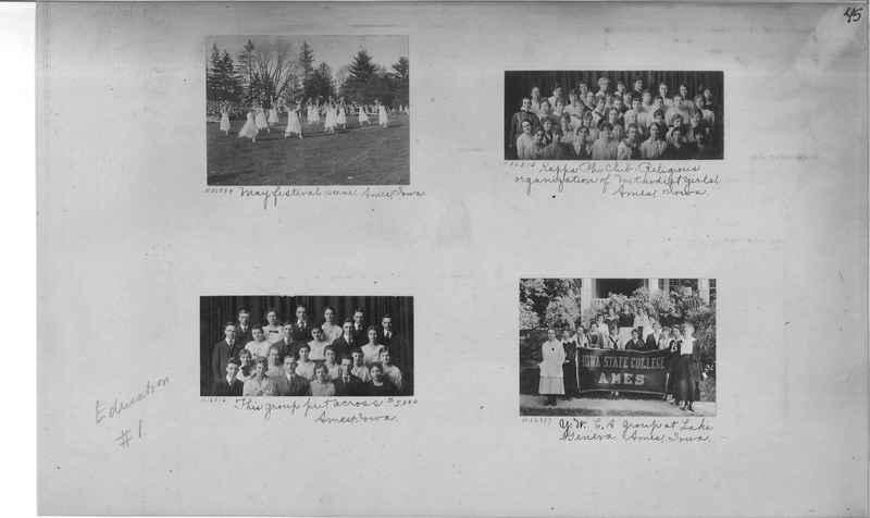 Mission Photograph Album - Education #1 page 0045
