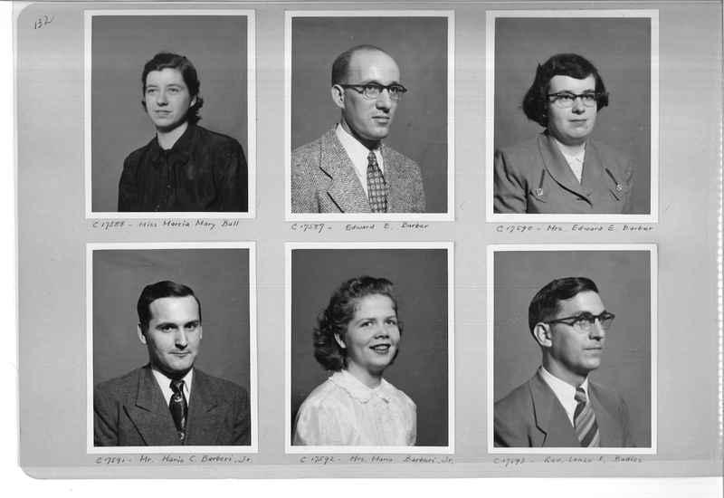 Mission Photograph Album - Portraits #07 Page 0132