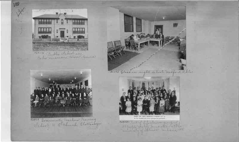 Mission Photograph Album - Education #1 page 0198