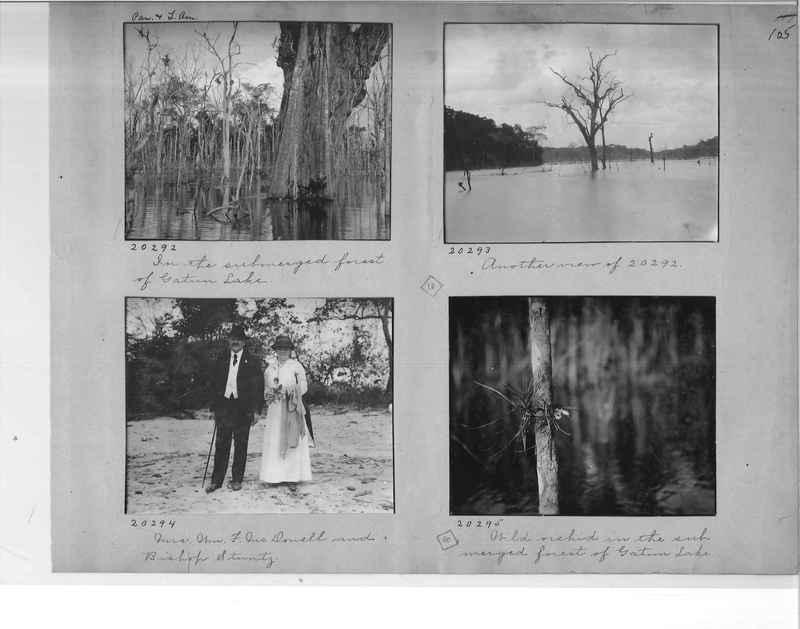 Mission Photograph Album - Panama #1 page  0105