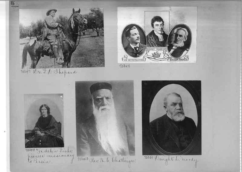 Mission Photograph Album - Portraits #3 page 0086
