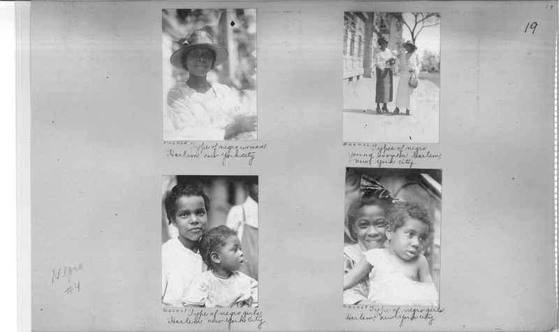 Mission Photograph Album - Negro #4 page 0019