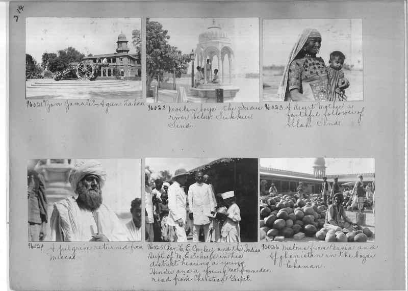 Mission Photograph Album - India #10 Page 0214