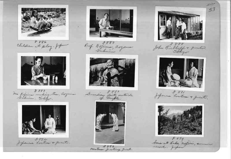 Mission Photograph Album - Japan #07 Page 0053