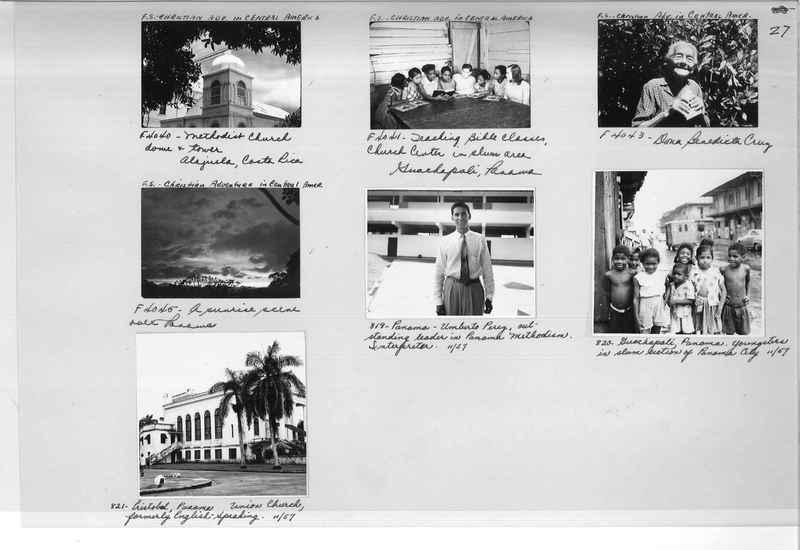 Mission Photograph Album - Panama #05 page 0027