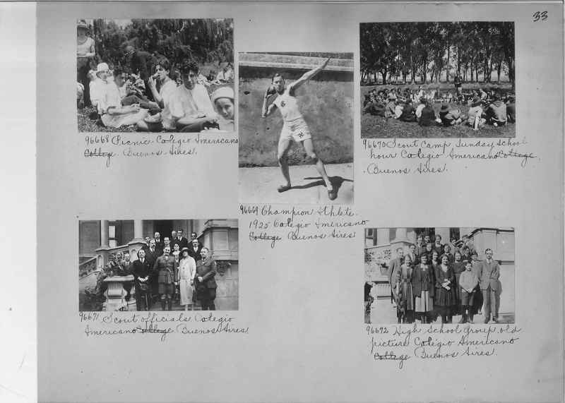 Misson Photograph Album - South America #8 page 0033