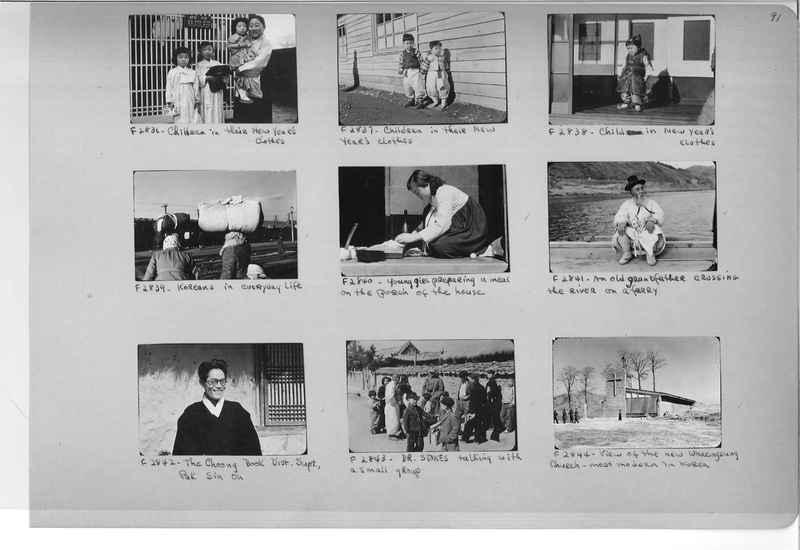 Mission Photograph Album - Korea #6 page 0091