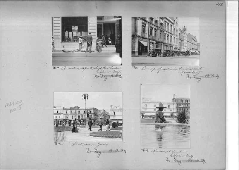 Mission Photograph Album - Mexico #05 page 0213