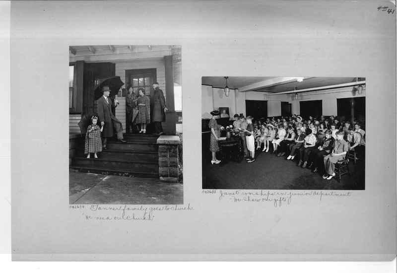 Mission Photograph Album - Religious Education #2 page 0041