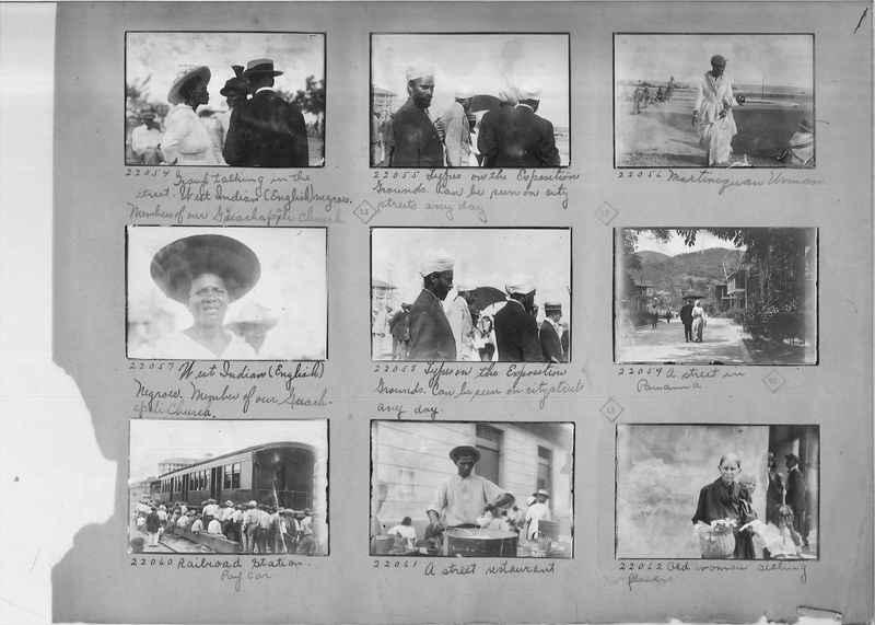 Mission Photograph Album - Panama #02 page 0001