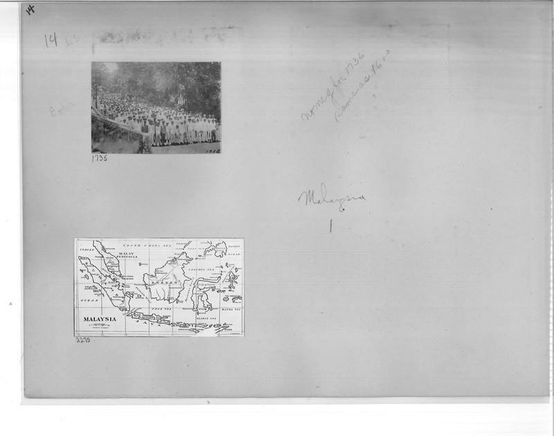 Mission Photograph Album - Malaysia #1 page 0014