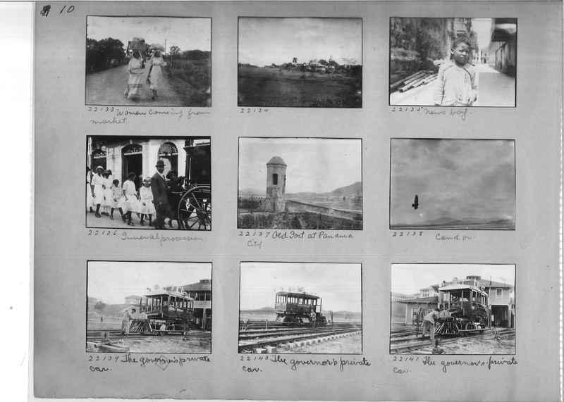 Mission Photograph Album - Panama #02 page 0010