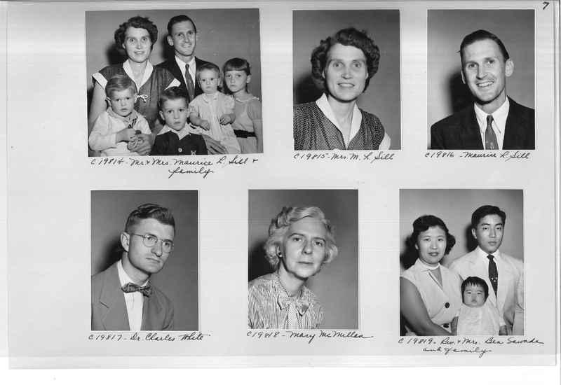 Mission Photograph Album - Portraits #09 Page 0007