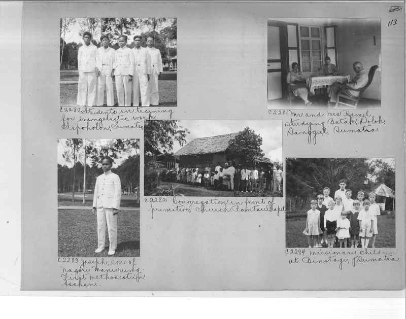 Mission Photograph Album - Malaysia #7 page 0113
