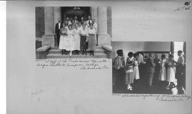 Mission Photograph Album - Education #1 page 0165