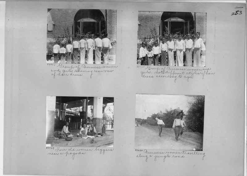 Mission Photograph Album - Burma #1 page 0253