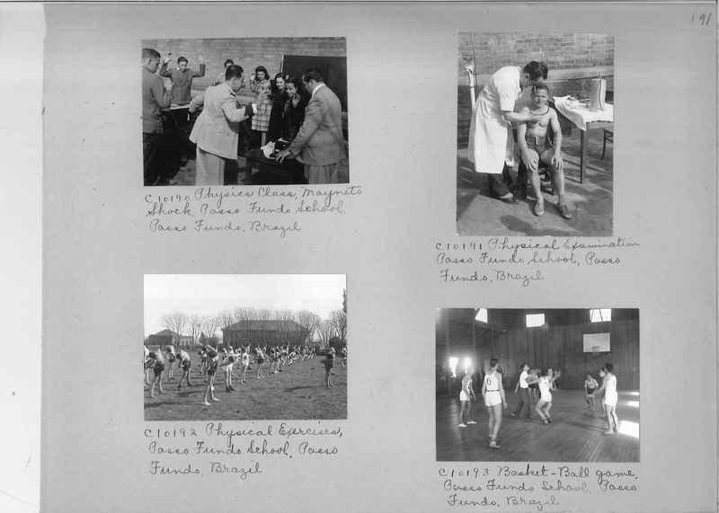 Misson Photograph Album - South America #8 page 0191