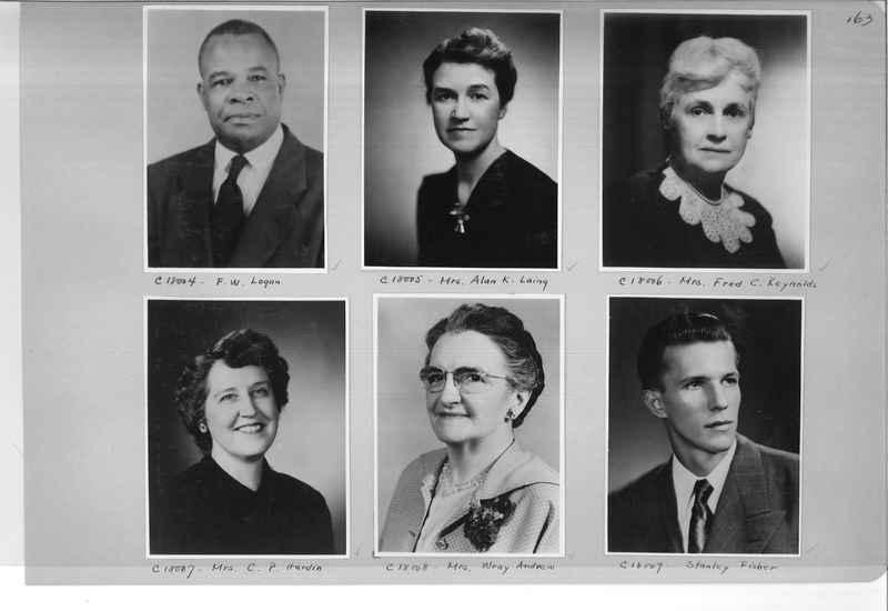 Mission Photograph Album - Portraits #07 Page 0163