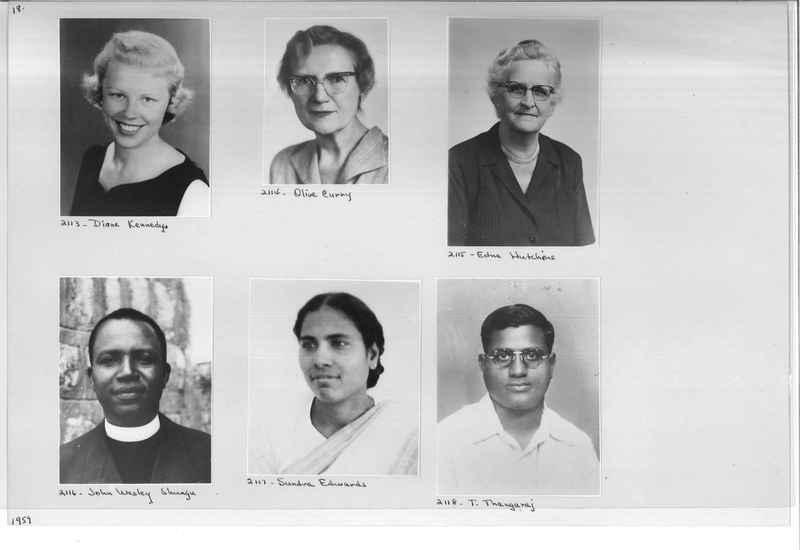 Mission Photograph Album - Portraits #12 Page 0018