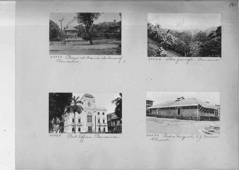 Mission Photograph Album - Panama #02 page 0191