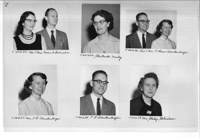 Mission Photograph Album - Portraits #09 Page 0060