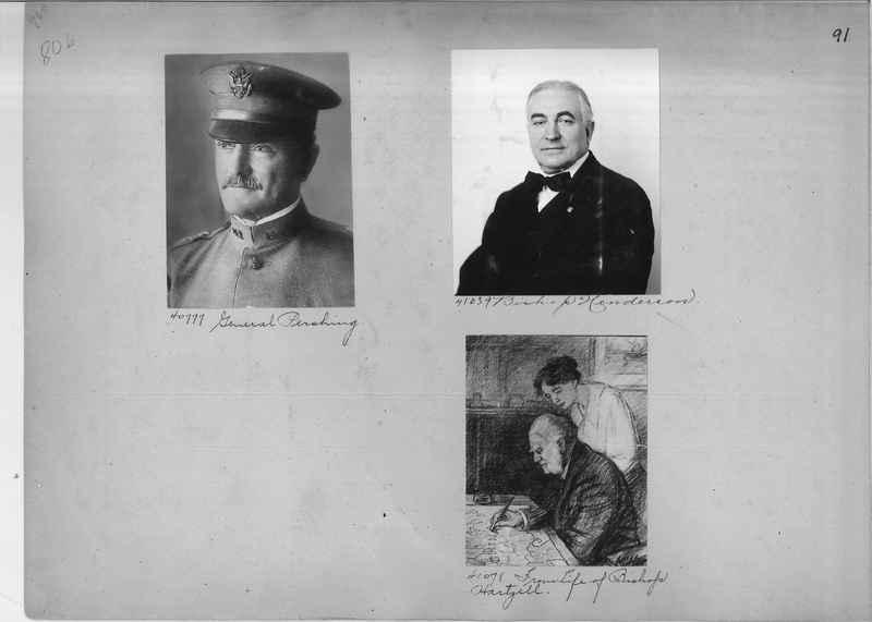 Mission Photograph Album - Portraits #1 page 0091