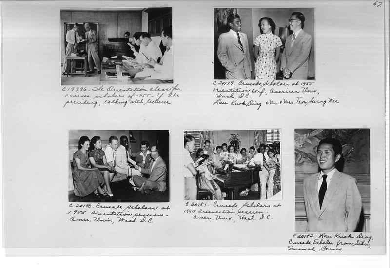 Mission Photograph Album - Portraits #13 Page 0067
