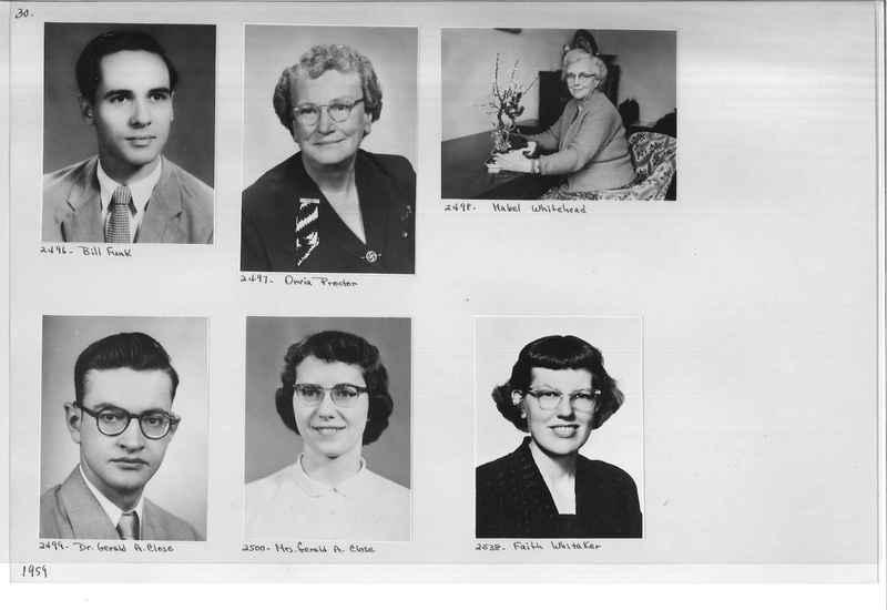 Mission Photograph Album - Portraits #12 Page 0030