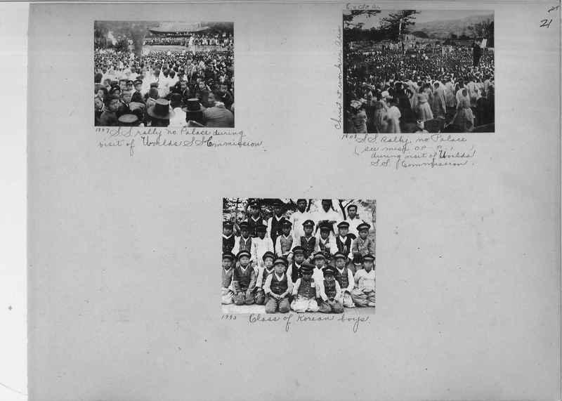 Mission Photograph Album - Korea #1 page 0021