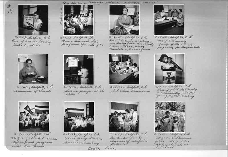 Mission Photograph Album - Panama #05 page 0014