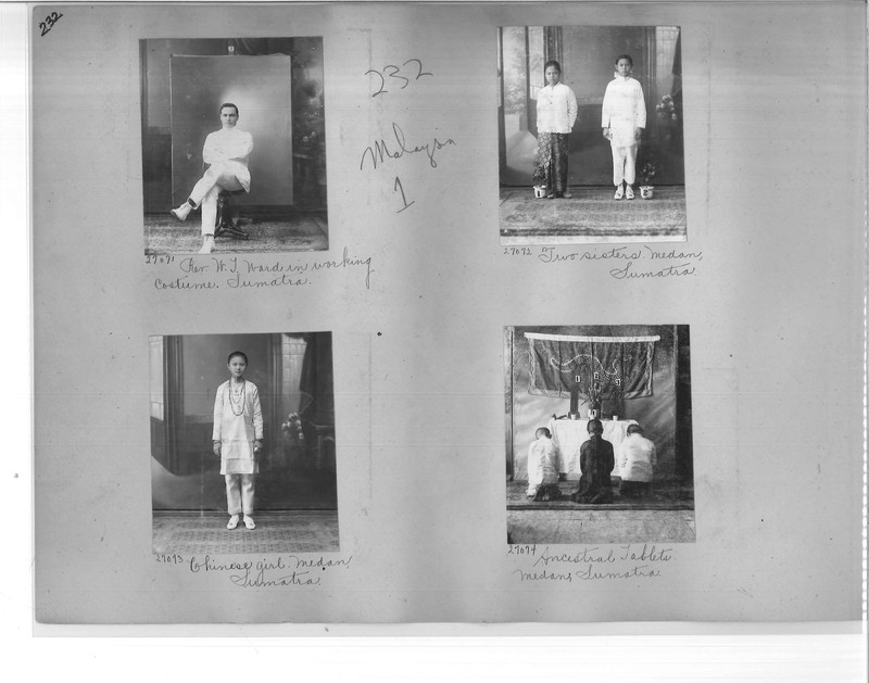 Mission Photograph Album - Malaysia #1 page 0232