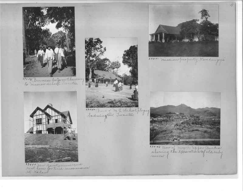 Mission Photograph Album - Burma #2 page 0011