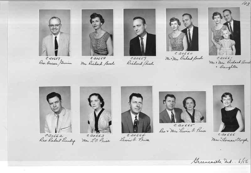 Mission Photograph Album - Portraits #09 Page 0103