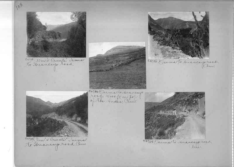 Misson Photograph Album - South America #8 page 0108