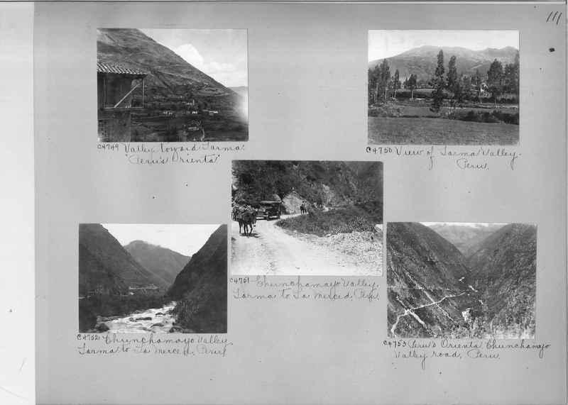 Misson Photograph Album - South America #8 page 0111