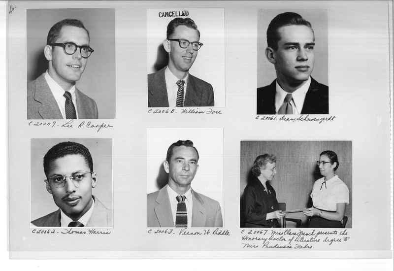 Mission Photograph Album - Portraits #09 Page 0046