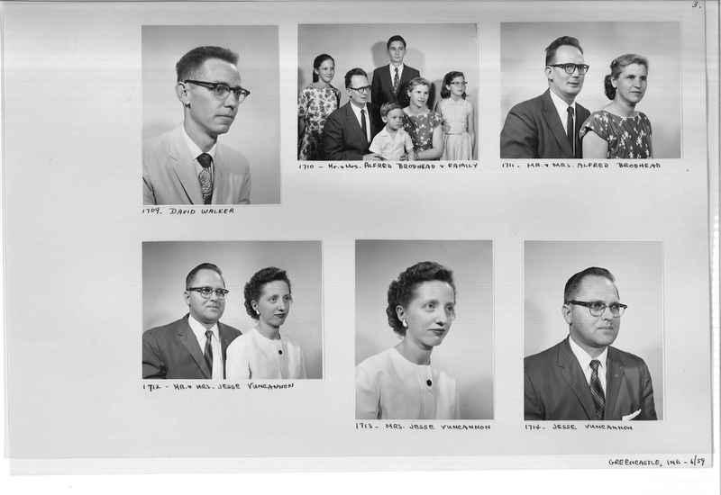 Mission Photograph Album - Portraits #12 Page 0003