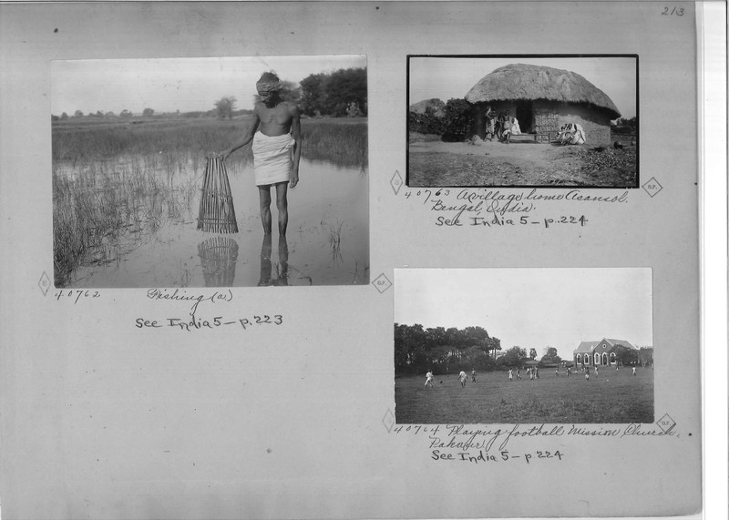 Mission Photograph Album - India - O.P. #02 Page 0213