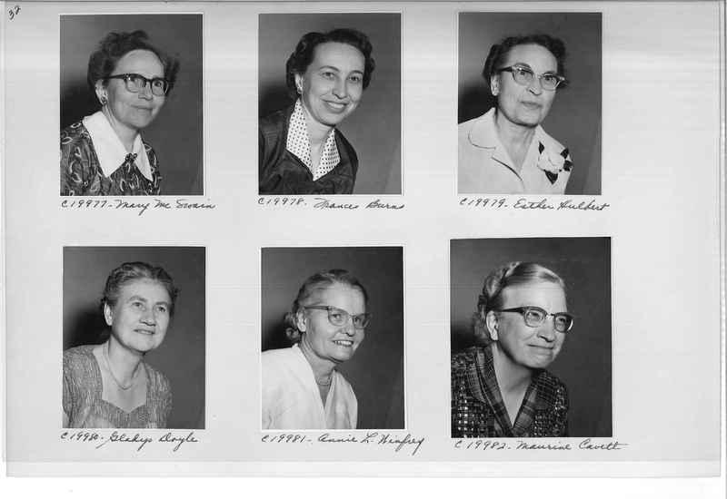 Mission Photograph Album - Portraits #09 Page 0032