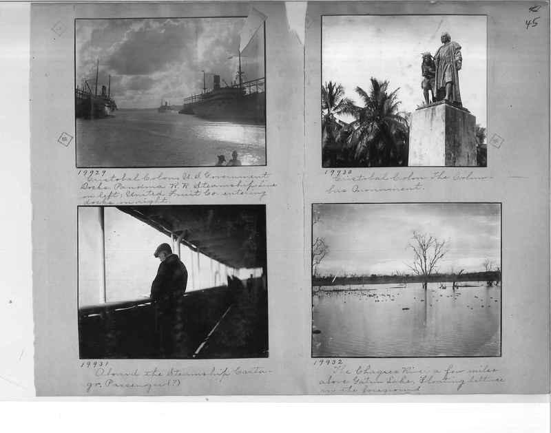 Mission Photograph Album - Panama #1 page  0045