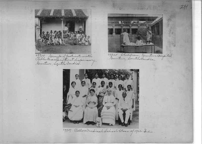 Mission Photograph Album - India #08 Page 0241