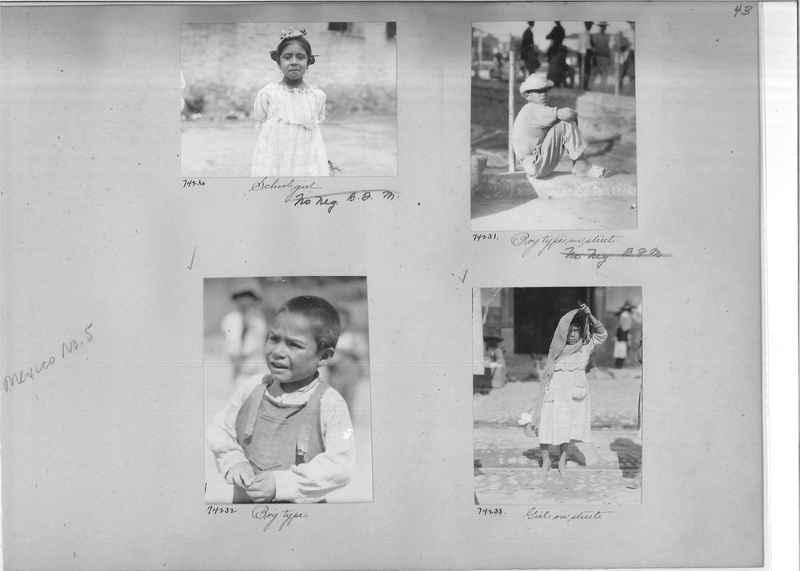 Mission Photograph Album - Mexico #05 page 0043