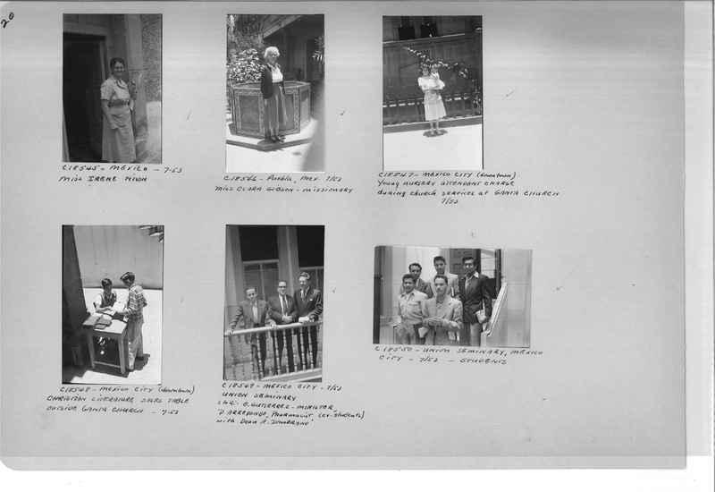 Mission Photograph Album - Mexico #09 Page 0020